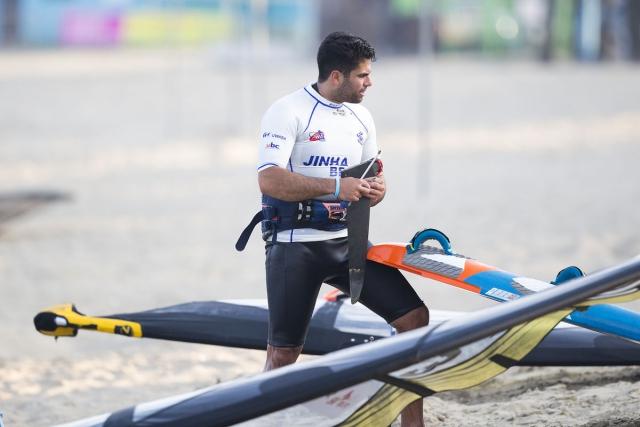 Kurosh Kiani windsurfing world cup